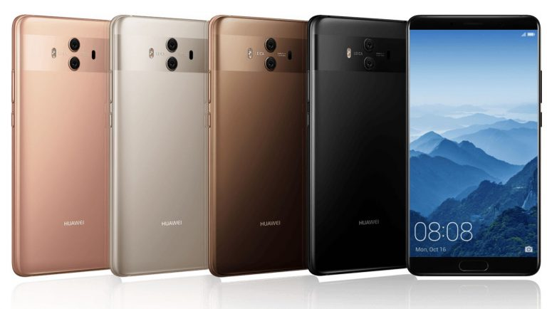 Huawei launches Mate10 smartphones with built-in AI, to challenge Apple