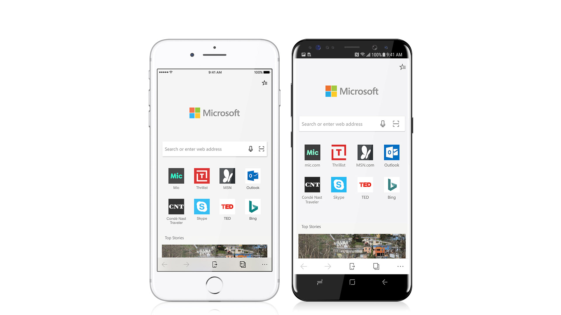 Microsoft Announces Edge For Android And IOS, Microsoft