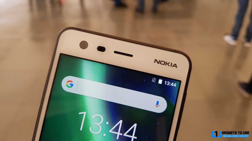 Nokia 2 front camera