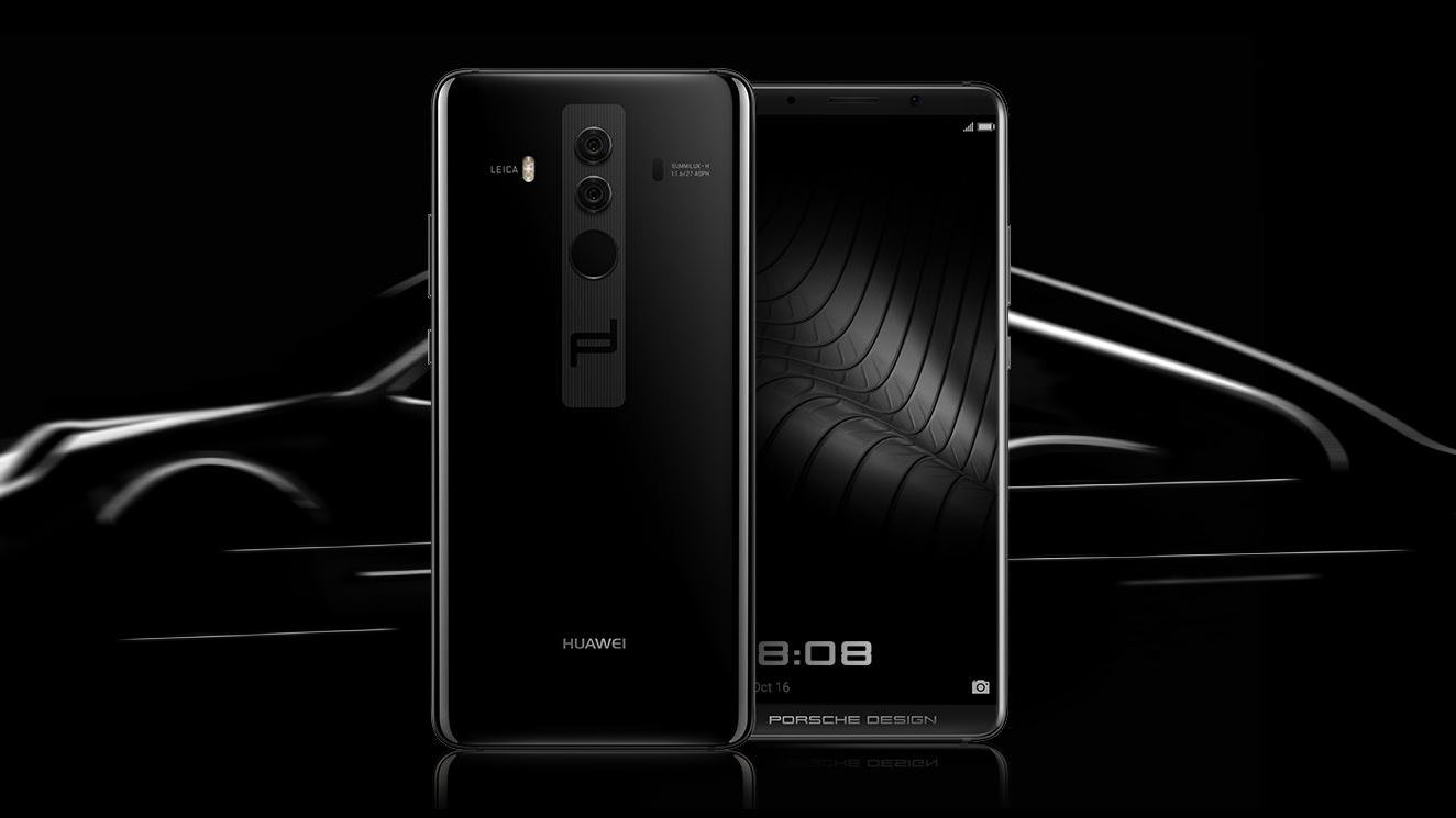 porsche design huawei mate 10 announced with fullview display. Black Bedroom Furniture Sets. Home Design Ideas
