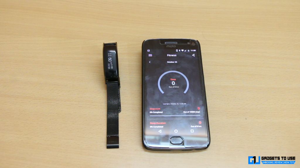 Timex Blink band app