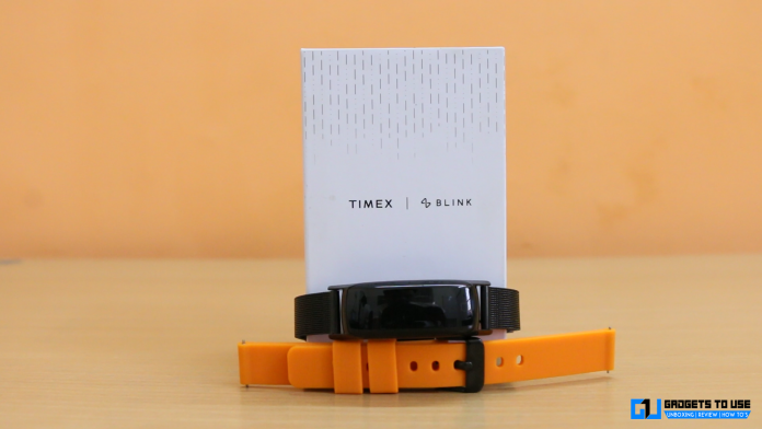 Timex Blink band featured