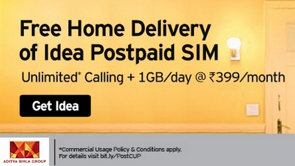 Idea Rs. 399 postpaid plan
