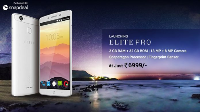 Swipe launches 'ELITE Pro' smartphone at Rs 6999