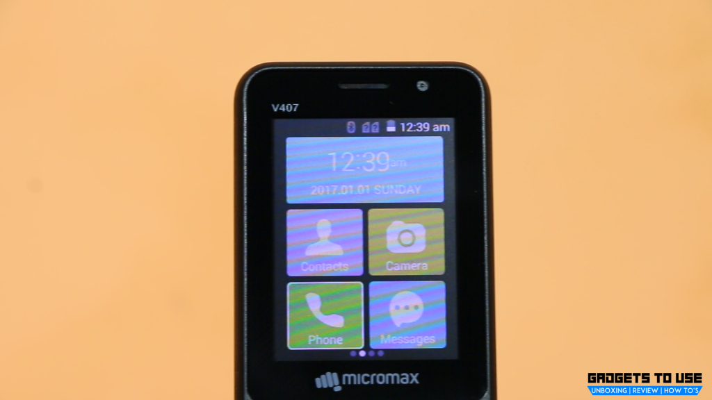 Micromax Bharat 1 display