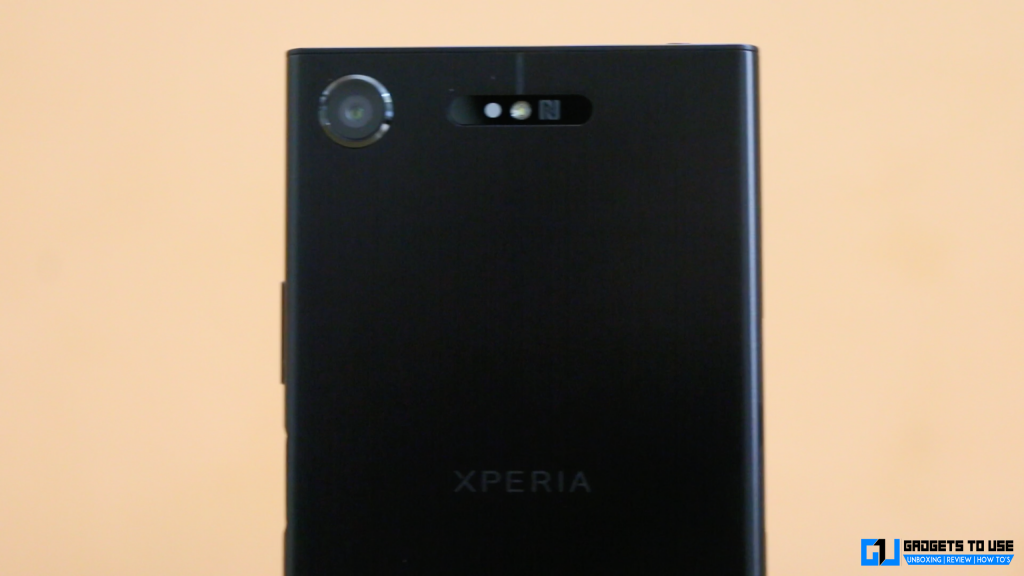 Sony Xperia XZ1 rear camera