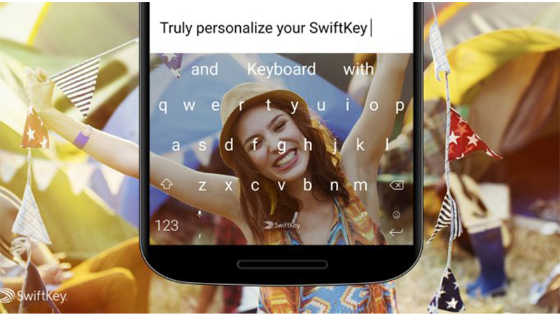 SwiftKey Photo Themes featured