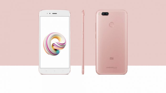 Xiaomi Mi A1 rose gold featured