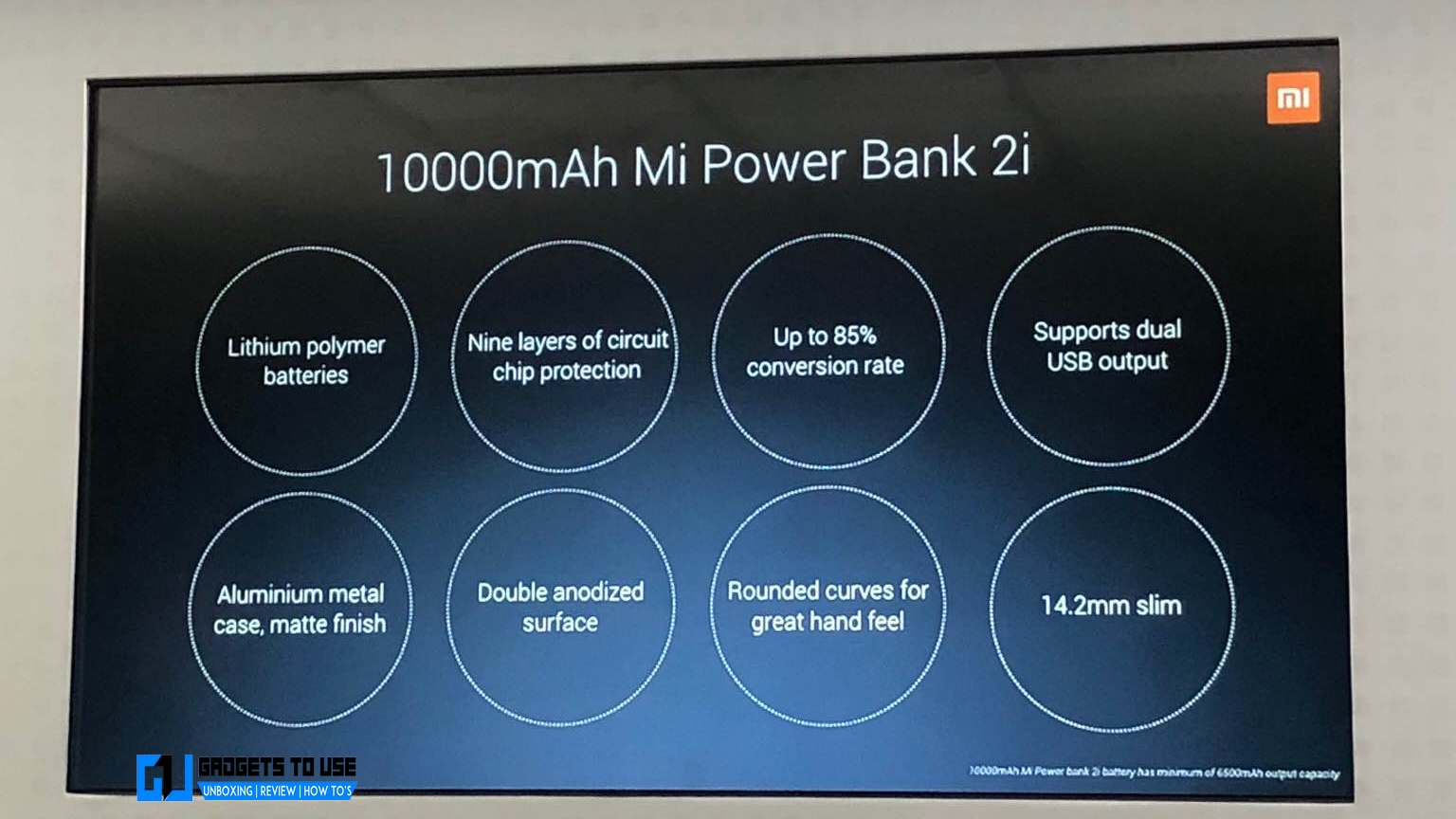 Mi Power Bank 2i 10000mAh & 20000mAh Launched In India - Made in India