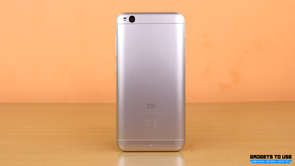Xiaomi Redmi 5A back