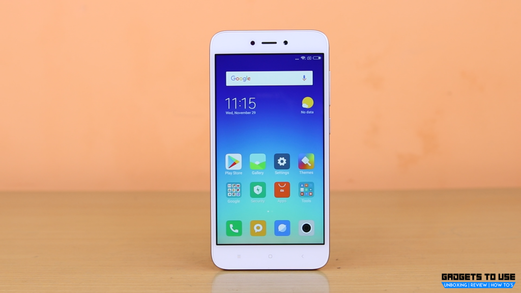 Xiaomi Redmi 5A display