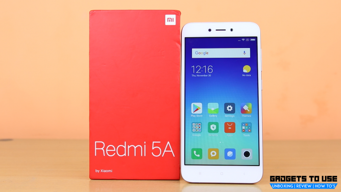 Reliance Jio offering Rs 1000 cashback on Xiaomi Redmi 5A