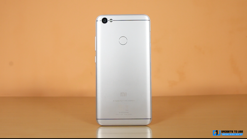 Xiaomi Redmi Y1 back