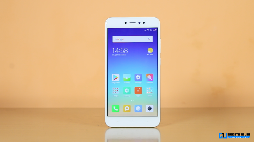 Xiaomi Redmi Y1 display