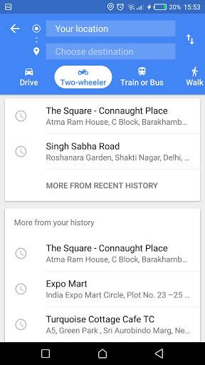 Google Maps gets Two-Wheeler mode in India: here is how it works