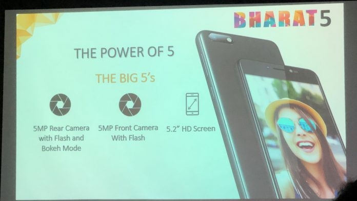 Micromax Launches Affordable Smartphone Bharat 5; Will Compete With Redmi 5A