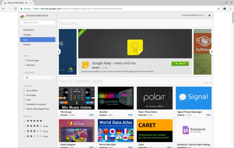 Google shuts chrome apps section for Mac and Windows users