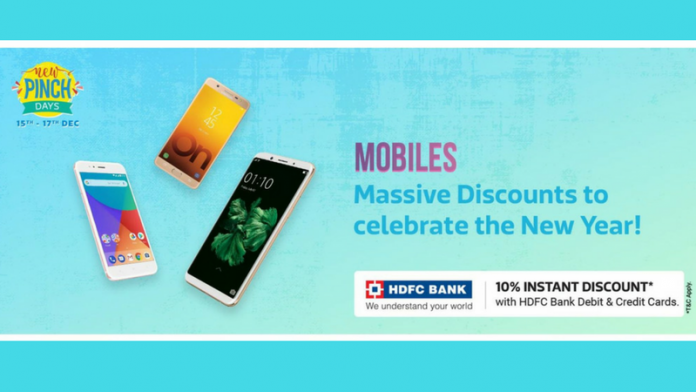 Flipkart New Pinch days: Unbeatable Offers For Electronics, Fashion and Accessories