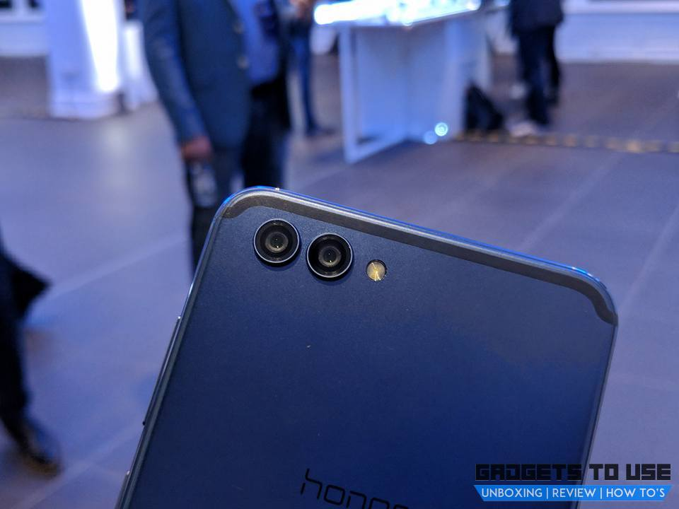 Honor View 10 cameras
