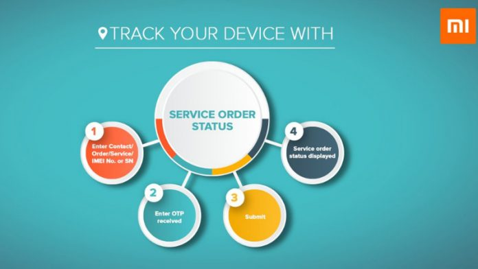 Xiaomi India makes it easier to track smartphone fix status