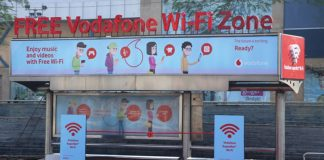 Vodafone WiFi Bus shelter featured