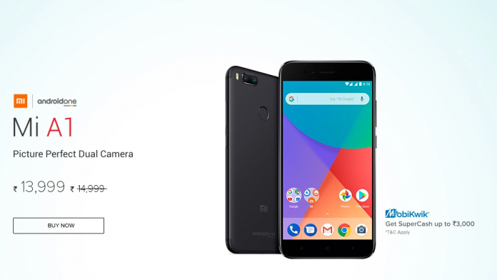 Xiaomi Mi A1 Receives Permanent Price Cut