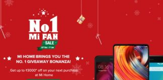 Xiaomi Mi Home No. 1 Mi Fan Sale