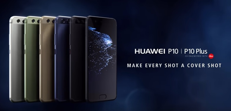 Huawei P10 series with Leica cameras