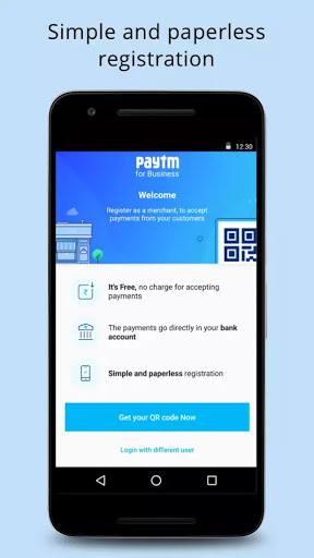 Popular digital wallet Paytm has launched a new app dubbed as  Paytm for  Business  for merchants and businesses. The app currently available only to  Android ... ab74e03678