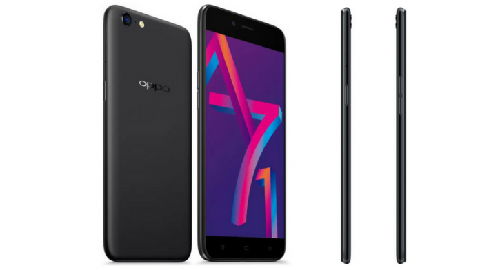 2d9056607 Oppo A71 (2018) with AI beauty recognition launched  Price