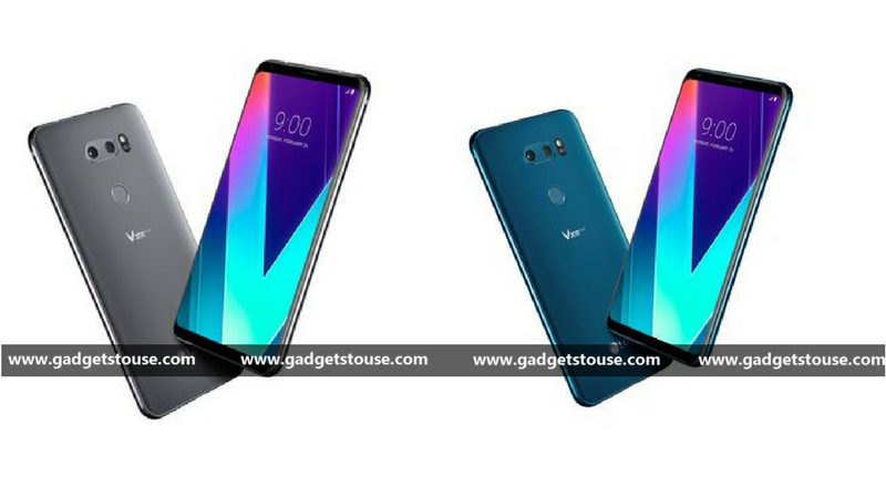 LG V30S ThinQ colours
