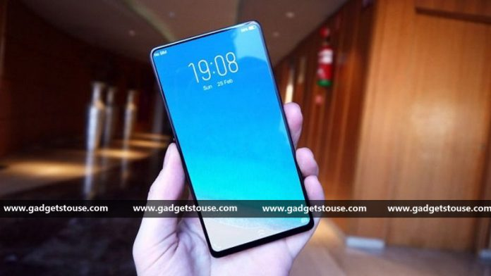 Vivo APEX Launched With Bezel Less Display Half Screen