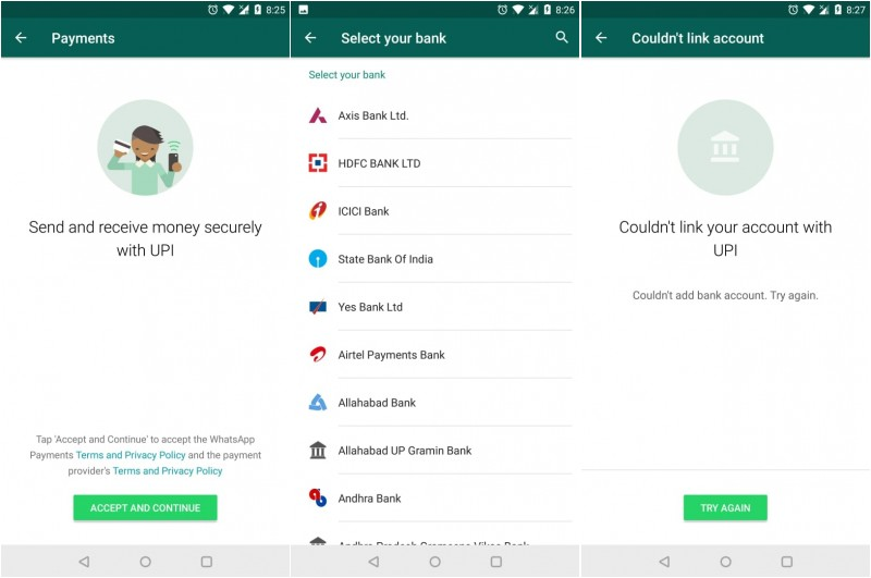 WhatsApp payments arrive in India for beta testers
