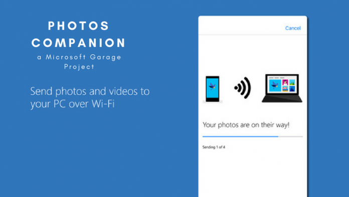 Microsoft launches Photos Companion app, enabling rapid smartphone-to-PC image transfers