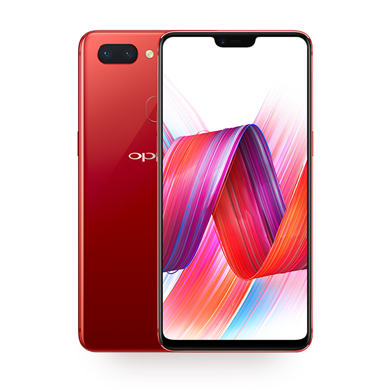 Oppo R15 OnePlus 6 notch