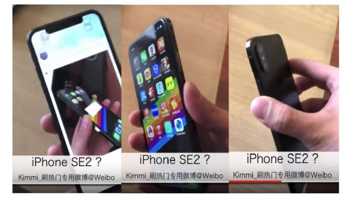 Apple iPhone SE 2 Leaked