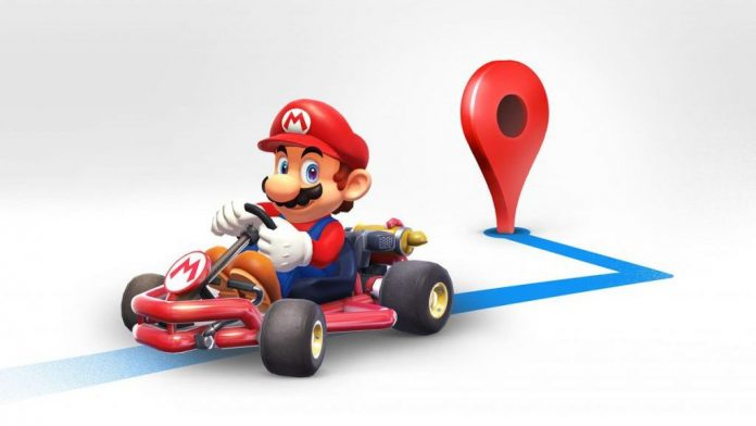 How to turn Google Maps into Mario Kart