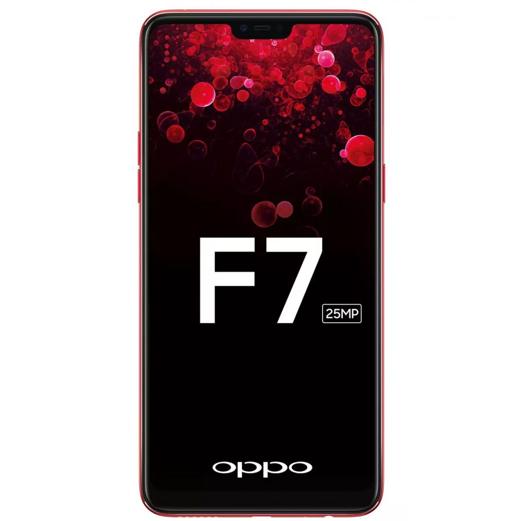 Oppo F7 with notch display launching in India on March 26
