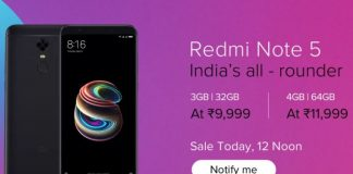 Redmi Note 5 Pro surprise flash sale