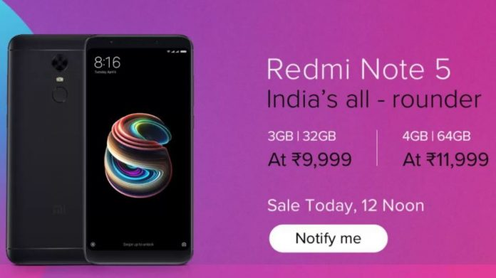 Xiaomi announces Redmi Note 5, Note 5 Pro surprise flash sale