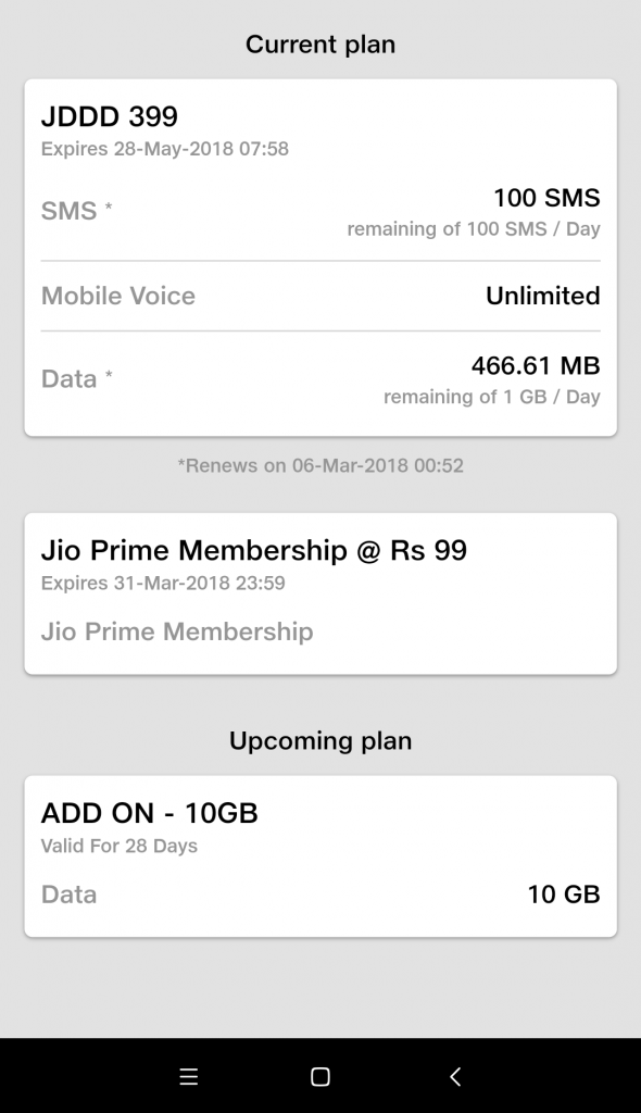 Reliance Jio 10GB Add on