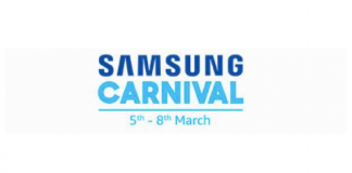 Samsung Carnival on Amazon featured