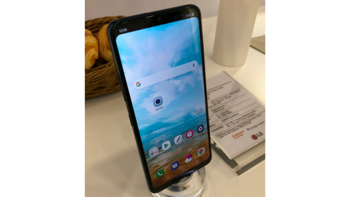 LG G7 spied at MWC and it's yet another iPhone X rip-off