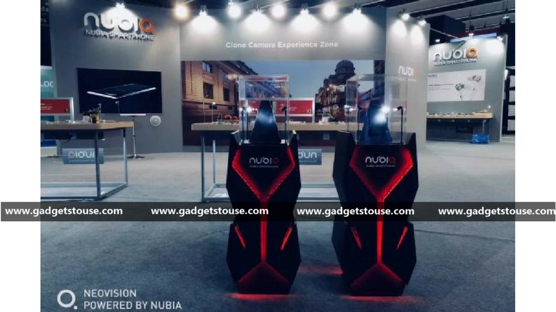 Nubia Gaming phone prototype