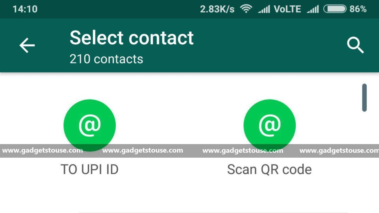 WhatsApp Payments lets you scan QR codes to send money now