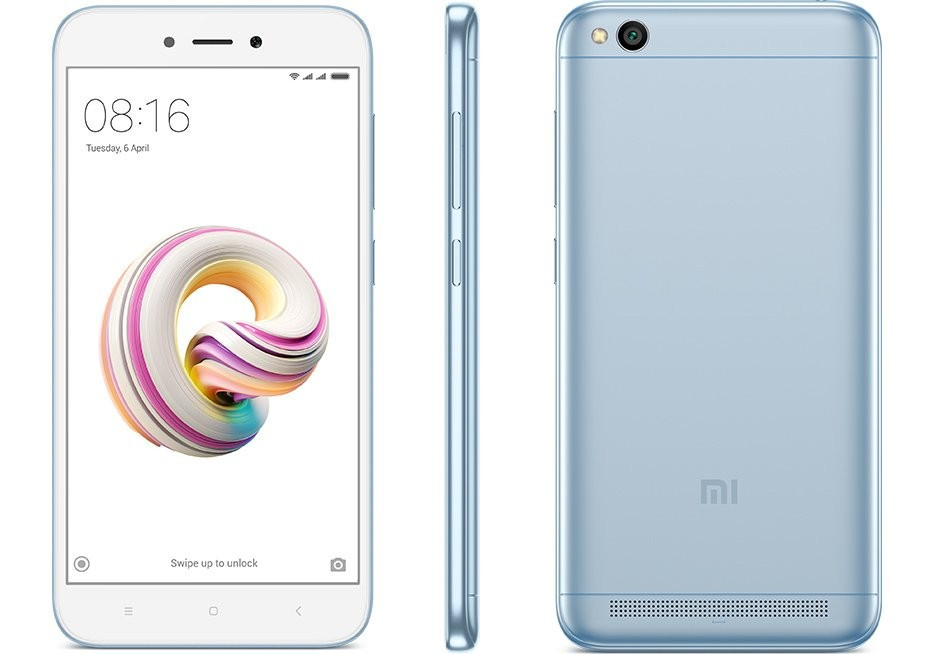 - Xiaomi Redmi 5A Lake Blue - Xiaomi Redmi 5A now comes in Lake Blue color, next sale on March 22