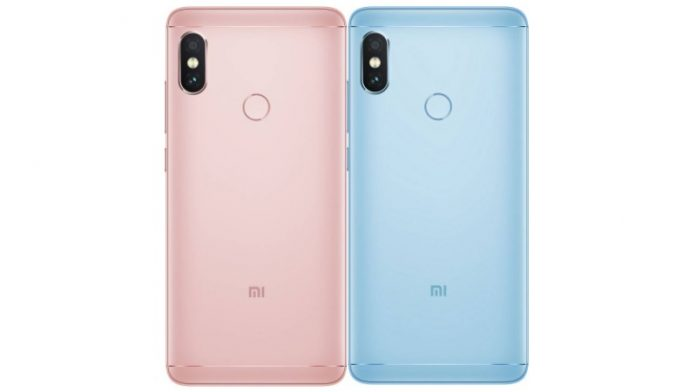 Xiaomi Redmi Note 5 Pro Lake Blue Rose Gold