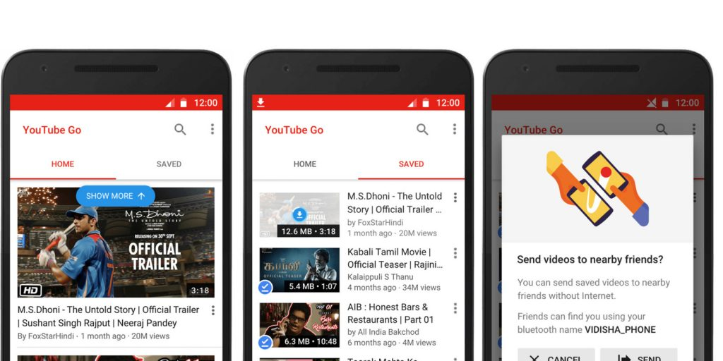YouTube Go India
