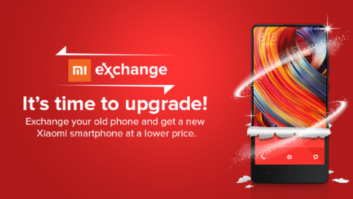 Exchange your old phone - Mi India