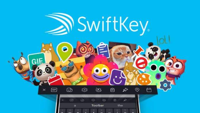 SwiftKey Keyboard update adds a new toolbar and editable stickers